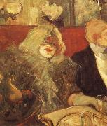 Having dinner together Henri de toulouse-lautrec